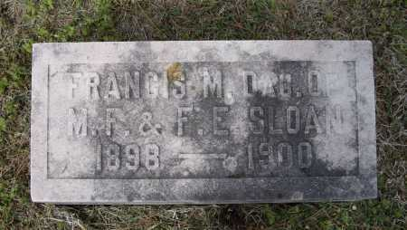 SLOAN, FRANCIS M. - Lawrence County, Arkansas | FRANCIS M. SLOAN - Arkansas Gravestone Photos
