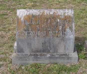ANDREWS SLOAN, FRANCES ELIZABETH - Lawrence County, Arkansas | FRANCES ELIZABETH ANDREWS SLOAN - Arkansas Gravestone Photos