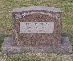 """SLOAN, FREDERICK RUDOLPH """"FRED"""" - Lawrence County, Arkansas 