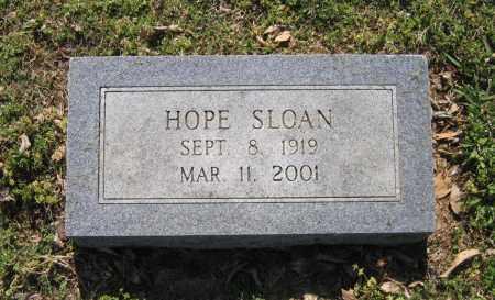 SLOAN, HOPE JOSEPHINE - Lawrence County, Arkansas | HOPE JOSEPHINE SLOAN - Arkansas Gravestone Photos
