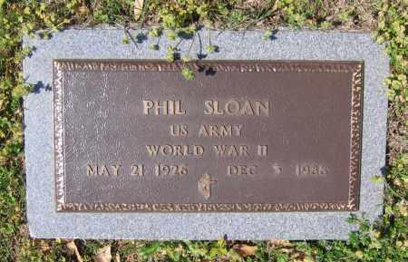 "SLOAN III (VETERAN WWII), MILLARD FILLMORE ""PHIL"" - Lawrence County, Arkansas   MILLARD FILLMORE ""PHIL"" SLOAN III (VETERAN WWII) - Arkansas Gravestone Photos"