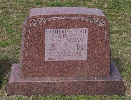 DAIL SLOAN, KATHERINE - Lawrence County, Arkansas | KATHERINE DAIL SLOAN - Arkansas Gravestone Photos