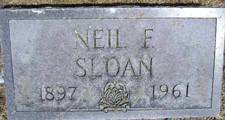 SLOAN, NEIL FRANCIS - Lawrence County, Arkansas | NEIL FRANCIS SLOAN - Arkansas Gravestone Photos