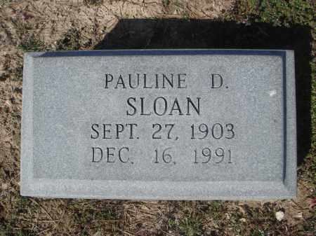 DILLPORT SLOAN, PAULINE - Lawrence County, Arkansas | PAULINE DILLPORT SLOAN - Arkansas Gravestone Photos