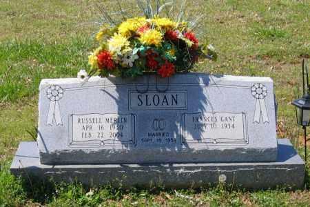 SLOAN, RUSSELL MERLIN - Lawrence County, Arkansas   RUSSELL MERLIN SLOAN - Arkansas Gravestone Photos