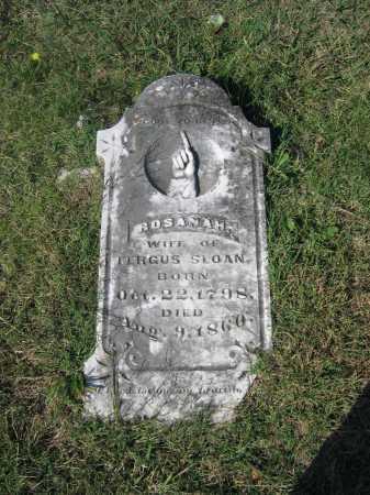 SLOAN, ROSANAH - Lawrence County, Arkansas | ROSANAH SLOAN - Arkansas Gravestone Photos