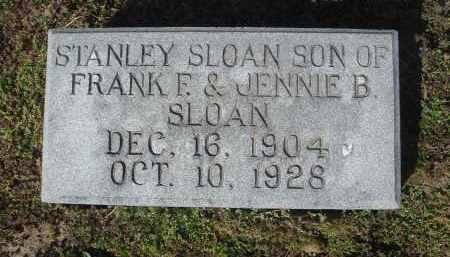 SLOAN, STANLEY - Lawrence County, Arkansas | STANLEY SLOAN - Arkansas Gravestone Photos