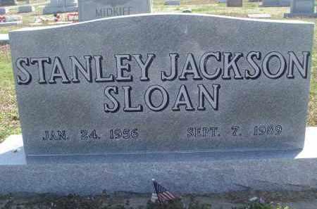 SLOAN, STANLEY JACKSON - Lawrence County, Arkansas | STANLEY JACKSON SLOAN - Arkansas Gravestone Photos