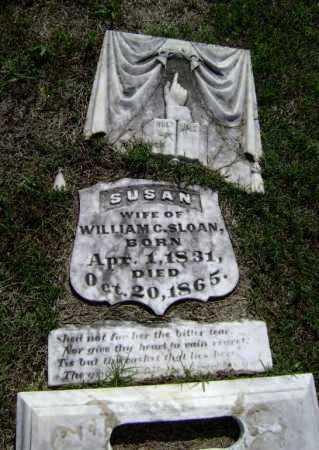 HENDERSON SLOAN, SUSAN - Lawrence County, Arkansas   SUSAN HENDERSON SLOAN - Arkansas Gravestone Photos