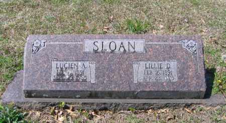 SLOAN, SR., LUCIEN ANDREWS - Lawrence County, Arkansas | LUCIEN ANDREWS SLOAN, SR. - Arkansas Gravestone Photos