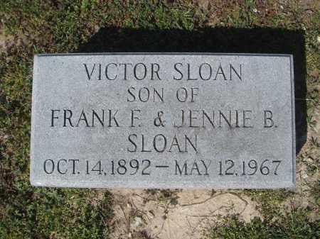SLOAN, VICTOR - Lawrence County, Arkansas   VICTOR SLOAN - Arkansas Gravestone Photos