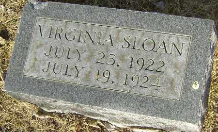 SLOAN, VIRGINIA - Lawrence County, Arkansas | VIRGINIA SLOAN - Arkansas Gravestone Photos