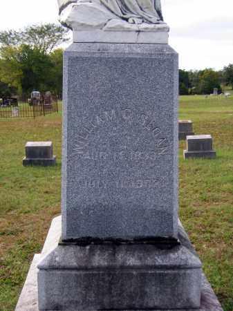 SLOAN, WILLIAM COMFORT (CLOSEUP) - Lawrence County, Arkansas | WILLIAM COMFORT (CLOSEUP) SLOAN - Arkansas Gravestone Photos