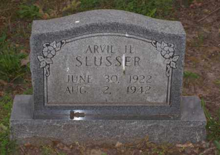 SLUSSER, ARVIL H. - Lawrence County, Arkansas | ARVIL H. SLUSSER - Arkansas Gravestone Photos
