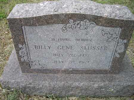 SLUSSER, BILLY GENE - Lawrence County, Arkansas | BILLY GENE SLUSSER - Arkansas Gravestone Photos