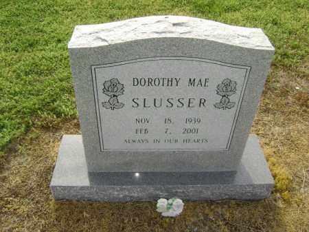 SLUSSER GILLMAN, DOROTHY MAE - Lawrence County, Arkansas | DOROTHY MAE SLUSSER GILLMAN - Arkansas Gravestone Photos