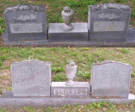 SLUSSER, HENRY C. - Lawrence County, Arkansas | HENRY C. SLUSSER - Arkansas Gravestone Photos