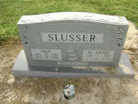 PEPPERS SLUSSER, MARY ANNIE - Lawrence County, Arkansas | MARY ANNIE PEPPERS SLUSSER - Arkansas Gravestone Photos