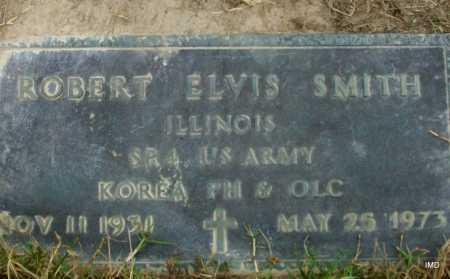 SMITH  (VETERAN KOR), ROBERT ELVIS - Lawrence County, Arkansas | ROBERT ELVIS SMITH  (VETERAN KOR) - Arkansas Gravestone Photos