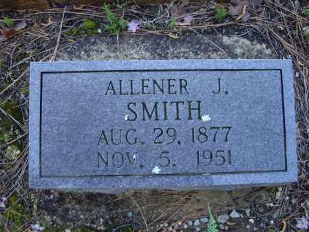 "HODGE SMITH, ALLENA JEANETTE ""ALLENER"" - Lawrence County, Arkansas | ALLENA JEANETTE ""ALLENER"" HODGE SMITH - Arkansas Gravestone Photos"