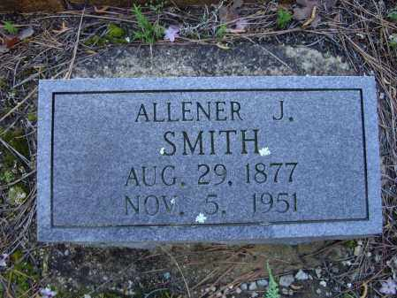 "HODGE SMITH, ALLENA JEANETTE ""ALLENER"" - Lawrence County, Arkansas 
