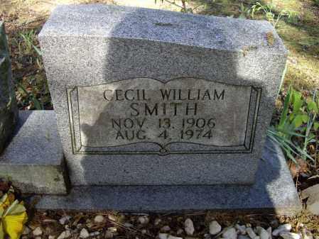 SMITH, CECIL WILLIAM - Lawrence County, Arkansas | CECIL WILLIAM SMITH - Arkansas Gravestone Photos