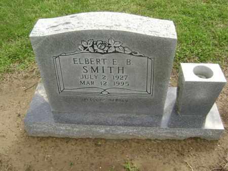 SMITH, ELBERT B - Lawrence County, Arkansas   ELBERT B SMITH - Arkansas Gravestone Photos