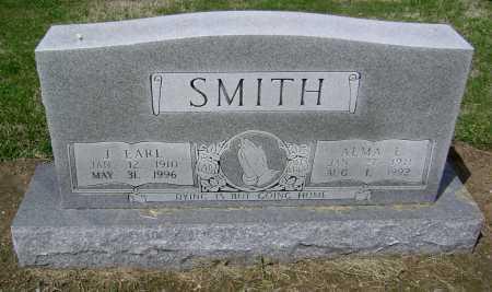 SMITH, J. EARL - Lawrence County, Arkansas | J. EARL SMITH - Arkansas Gravestone Photos