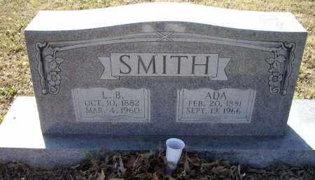 SMITH, ADA ELIZABETH - Lawrence County, Arkansas | ADA ELIZABETH SMITH - Arkansas Gravestone Photos