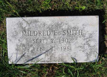 SMITH, MILDRED E. - Lawrence County, Arkansas   MILDRED E. SMITH - Arkansas Gravestone Photos