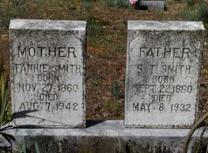 "SMITH, MARTHA FRANCES ""FANNIE"" - Lawrence County, Arkansas 