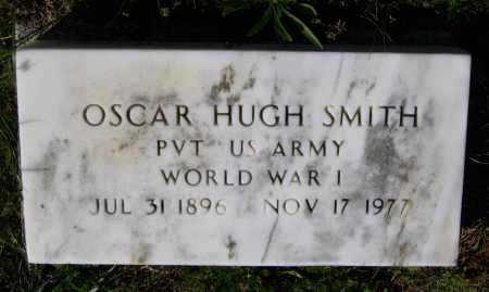 SMITH (VETERAN WWI), OSCAR HUGH - Lawrence County, Arkansas | OSCAR HUGH SMITH (VETERAN WWI) - Arkansas Gravestone Photos