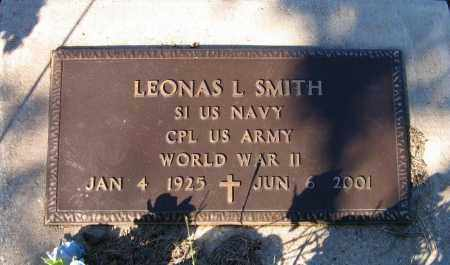 "SMITH (VETERAN WWII), LEONAS L. ""DOC"" - Lawrence County, Arkansas   LEONAS L. ""DOC"" SMITH (VETERAN WWII) - Arkansas Gravestone Photos"