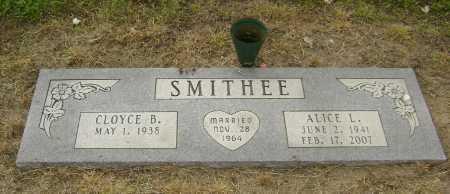GOSHA SMITHEE, ALICE LOUISE - Lawrence County, Arkansas | ALICE LOUISE GOSHA SMITHEE - Arkansas Gravestone Photos