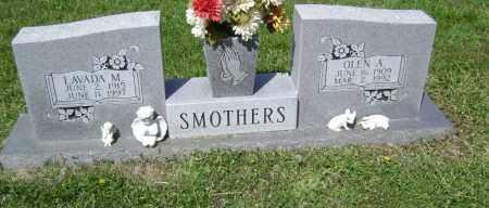 SMOTHERS, OLEN A. - Lawrence County, Arkansas | OLEN A. SMOTHERS - Arkansas Gravestone Photos