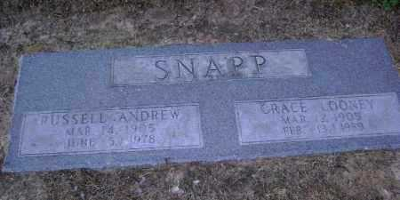 SNAPP, RUSSELL ANDREW - Lawrence County, Arkansas | RUSSELL ANDREW SNAPP - Arkansas Gravestone Photos