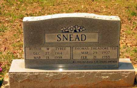"""SNEAD, THOMAS THEADORE """"TED"""" - Lawrence County, Arkansas 