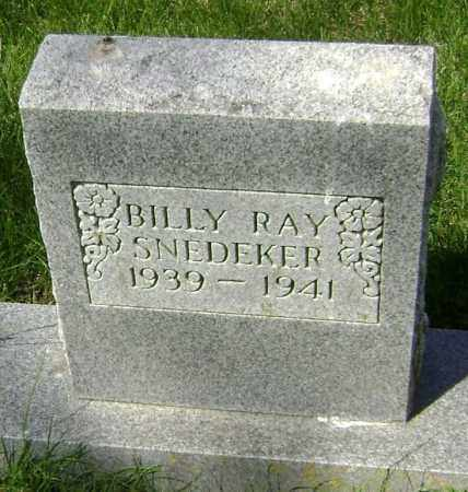 SNEDEKER, BILLY RAY - Lawrence County, Arkansas | BILLY RAY SNEDEKER - Arkansas Gravestone Photos