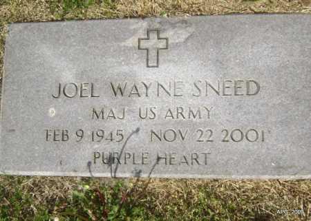 SNEED (VETERAN), JOEL WAYNE - Lawrence County, Arkansas   JOEL WAYNE SNEED (VETERAN) - Arkansas Gravestone Photos