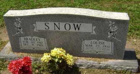 SNOW, BRADLEY CLINTON - Lawrence County, Arkansas | BRADLEY CLINTON SNOW - Arkansas Gravestone Photos