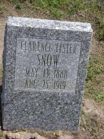 SNOW, CLARENCE LESTER - Lawrence County, Arkansas | CLARENCE LESTER SNOW - Arkansas Gravestone Photos