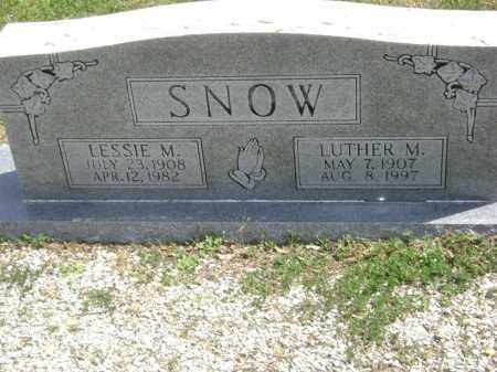 SNOW, LESSIE MAE - Lawrence County, Arkansas | LESSIE MAE SNOW - Arkansas Gravestone Photos
