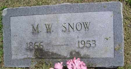 "SNOW, MARTIS WOODROW ""DOC"" - Lawrence County, Arkansas 