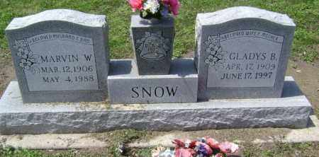 SNOW, GLADYS B. - Lawrence County, Arkansas | GLADYS B. SNOW - Arkansas Gravestone Photos