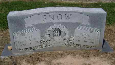 SNOW, ROY BARNEY - Lawrence County, Arkansas | ROY BARNEY SNOW - Arkansas Gravestone Photos