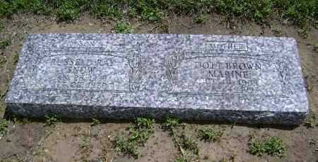 MARINE, DOTT - Lawrence County, Arkansas | DOTT MARINE - Arkansas Gravestone Photos