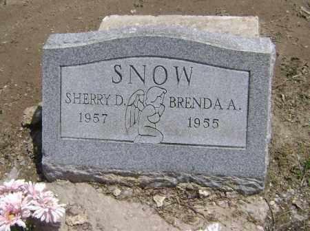 SNOW, BRENDA A. - Lawrence County, Arkansas   BRENDA A. SNOW - Arkansas Gravestone Photos