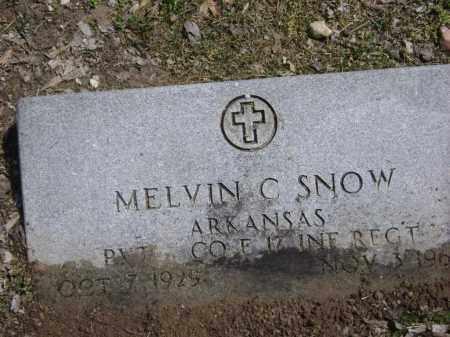 "SNOW (VETERAN WWII), MELVIN C. ""DUDE"" - Lawrence County, Arkansas | MELVIN C. ""DUDE"" SNOW (VETERAN WWII) - Arkansas Gravestone Photos"
