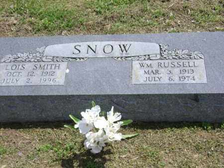SNOW, WILLIAM RUSSELL - Lawrence County, Arkansas | WILLIAM RUSSELL SNOW - Arkansas Gravestone Photos