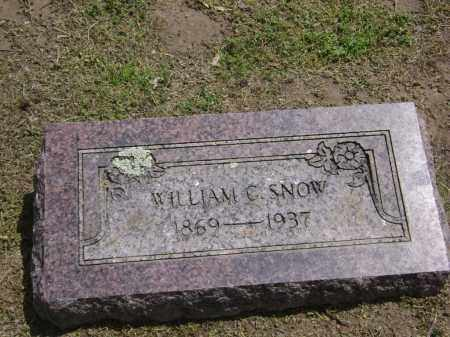 SNOW, WILLIAM CASWELL - Lawrence County, Arkansas | WILLIAM CASWELL SNOW - Arkansas Gravestone Photos